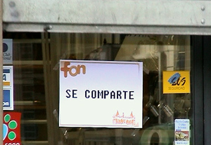 SE COMPARTE (for share): First FON spot